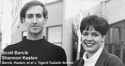 Barcik, Kasten, et al  v  Tigard-Tualatin School District
