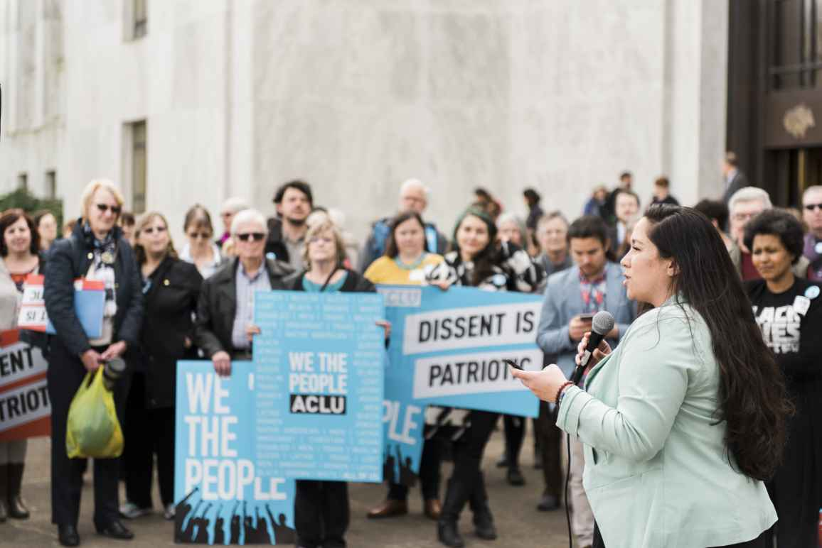 ACLU of Oregon Lobby Day in Salem (photo by Kenton Waltz)