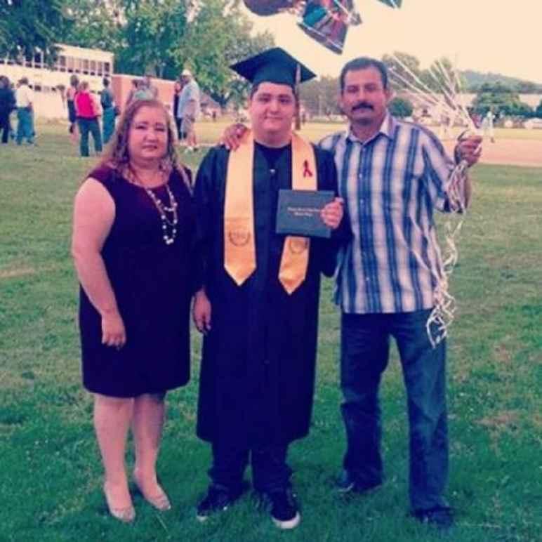 Emmanuel's graduation