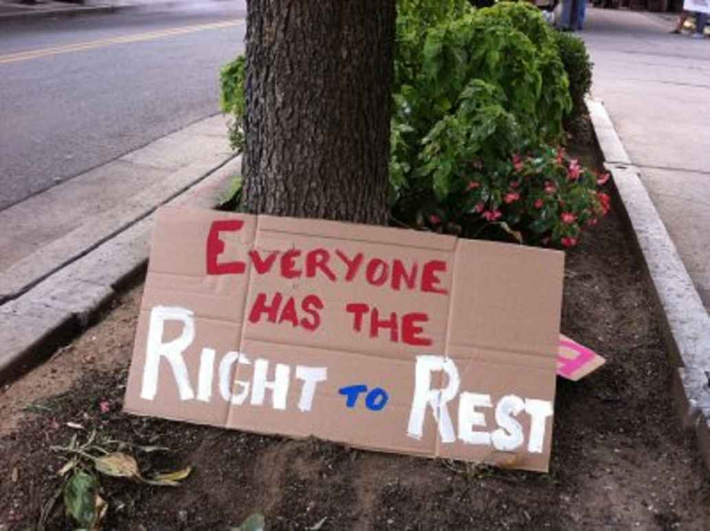 Right to Rest poster