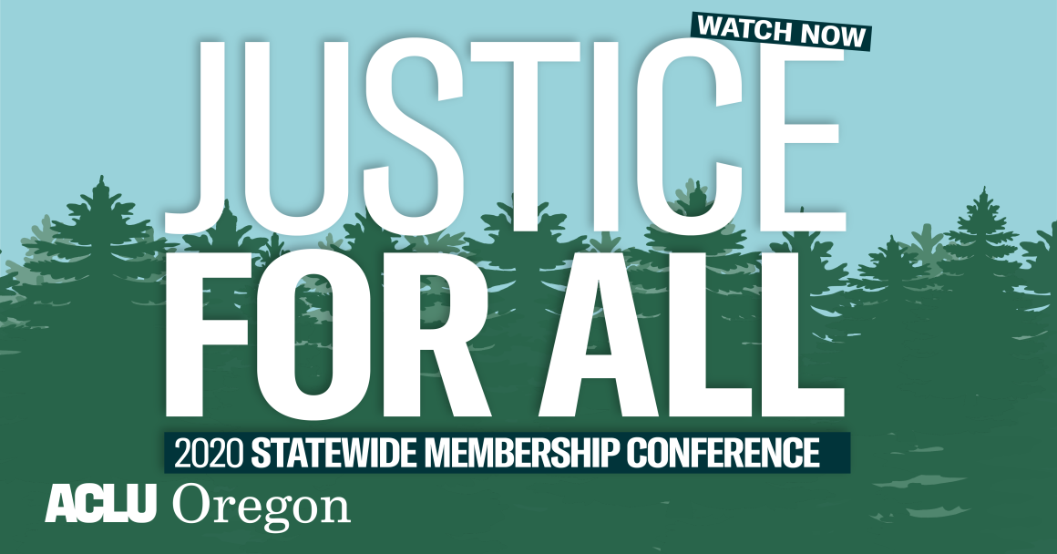 Watch the Justice For All conference