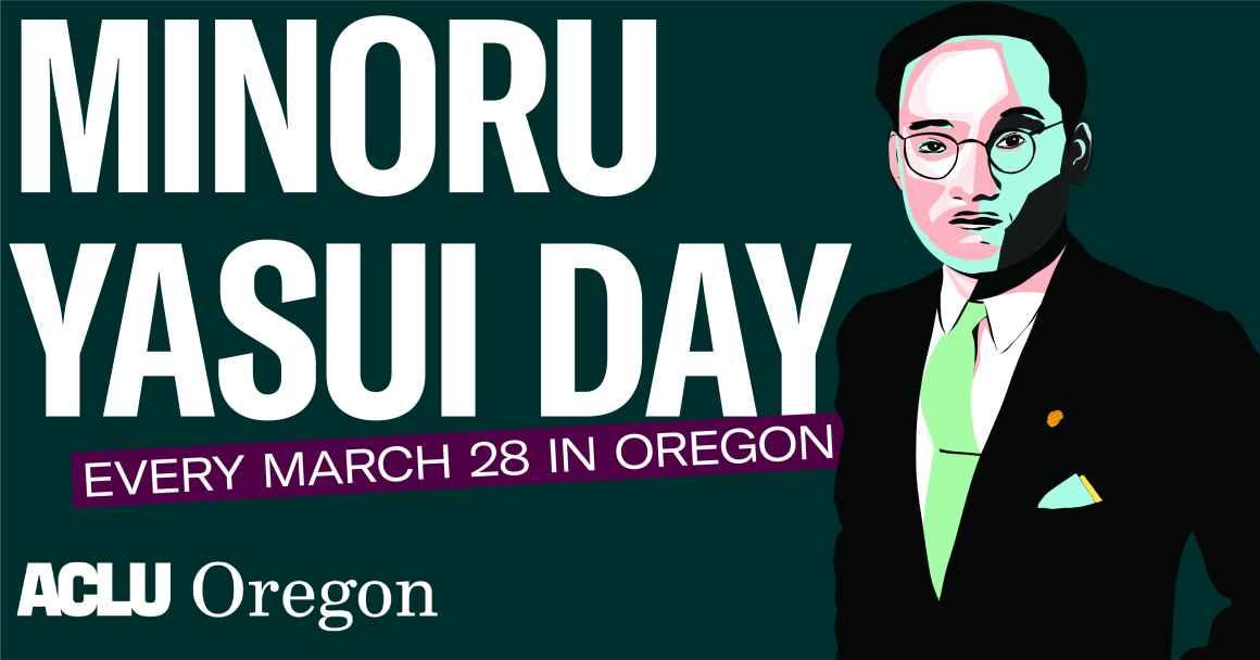 Minoru Yasui Day 2020 banner